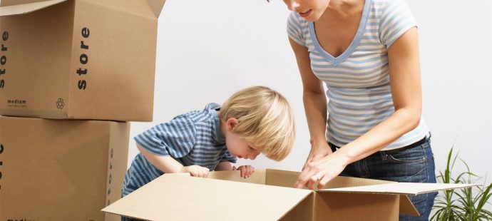 7 Ways to Help Your Kids Transition into a New Home