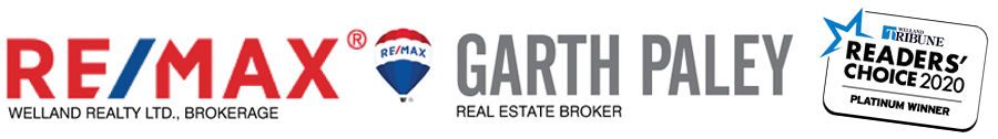Garth Paley - ReMax Welland ON 905-687-7653